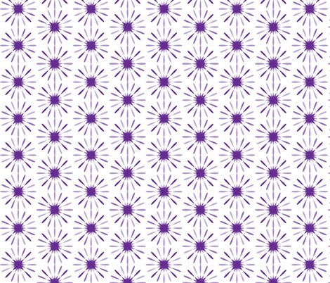 starbursts large purple fabric morganleal spoonflower