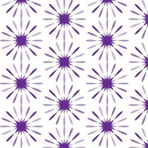 Starbursts Large - Purple