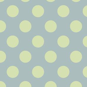 Polka Dot Green Slate