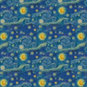 "eine kleine Starry Night (8"" repeat)"