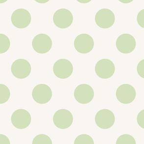 Polka Dot Pale Green