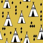 teepee // mustard kids nursery tipi southwest