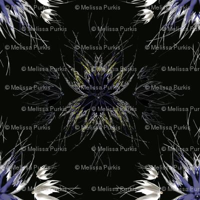 Futuristic Floral 1