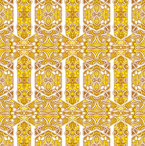 Take Me to Your Pollen and Nobody Gets Stung fabric by edsel2084 on Spoonflower - custom fabric