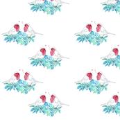 Bougainvillea_Birds