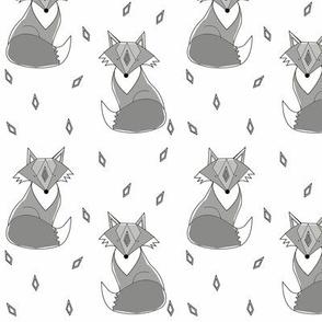 white fox - elvelyckan