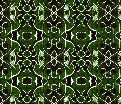 Emerald City fabric by hummingbird-stitch on Spoonflower - custom fabric