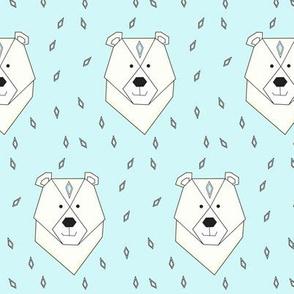 polar bear blue - elvelyckan