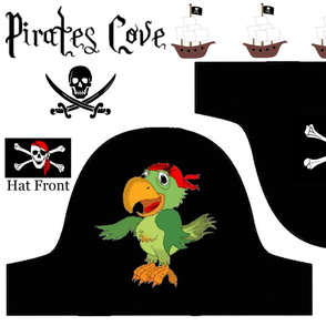 PARROT PIRATE HAT