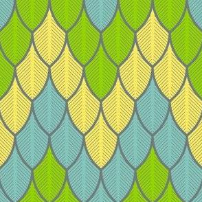 03527558 : zigzag feathers