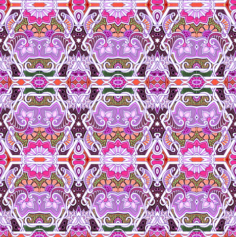 Nosegay Days fabric by edsel2084 on Spoonflower - custom fabric