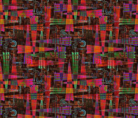 umbrellas madras fabric by glimmericks on Spoonflower - custom fabric
