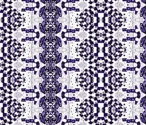 Purple Chess Game fabric by hummingbird-stitch on Spoonflower - custom fabric
