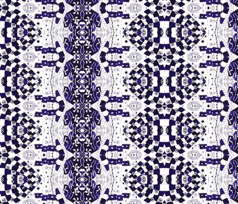 Purple Chess Game fabric by hummingbird-stitch on Spoonflower - custom fabric