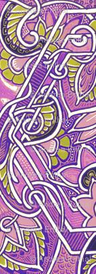 Purple Paisley Patch