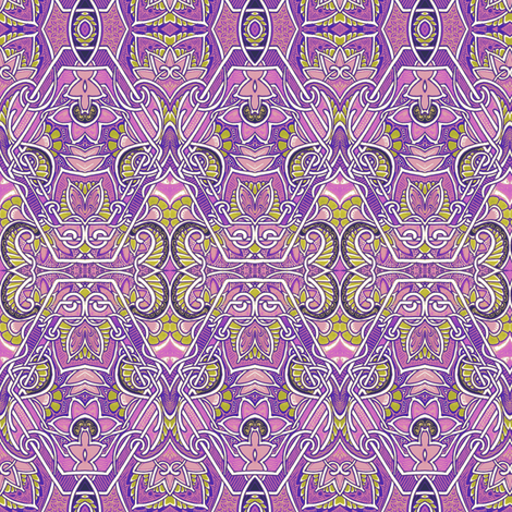 Purple Paisley Patch  fabric by edsel2084 on Spoonflower - custom fabric