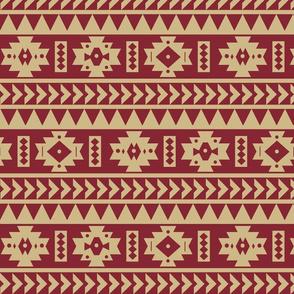FSU Aztec Tribal Print