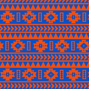 UF Aztec Tribal Print