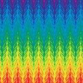 rainbow fishbone