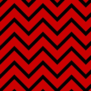 UGA Red and Black Chevron