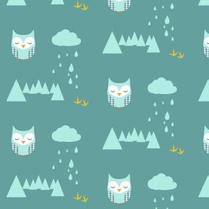Owl Pattern Arrows