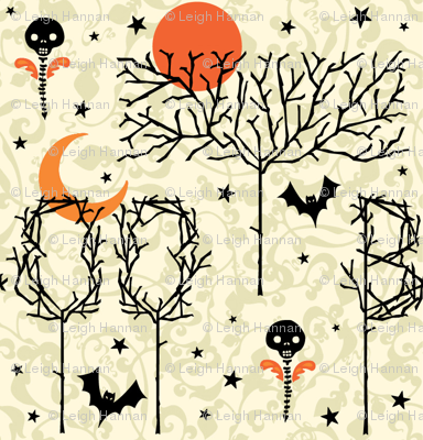 boo trees