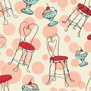 ice cream chairs