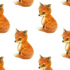 Fox Baby Vintage White