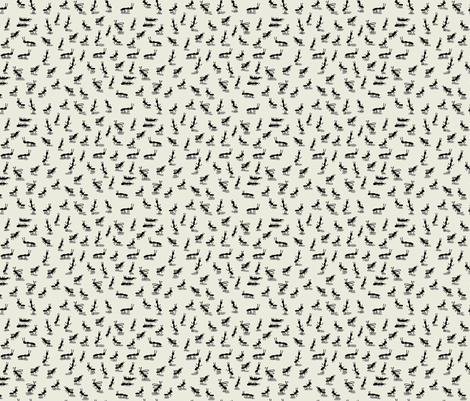 ant fab fabric by kimmurton on Spoonflower - custom fabric