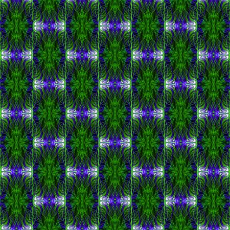 Royal Sapphire Cameos fabric by eve_catt_art on Spoonflower - custom fabric