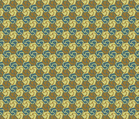 Coffee Swirls fabric by craige on Spoonflower - custom fabric