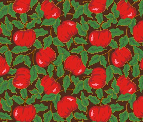 Apple Harvest fabric by aliceio on Spoonflower - custom fabric