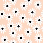 daisy // blush flowers floral flowers blush girls sweet nursery baby