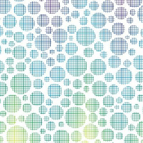rainbow graph dots