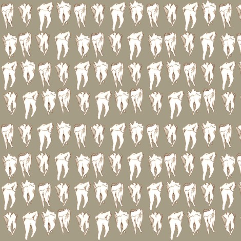 Share Your Wisdom With Me in Grey fabric by sparegus on Spoonflower - custom fabric