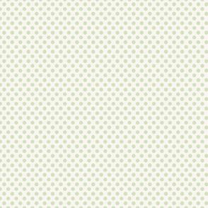 Polka Dot Pale Green Small