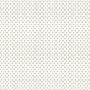 Polka Dot Grey Small