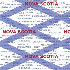 Nova Scotia Towns - White