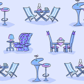 Tables&Chairs - purple