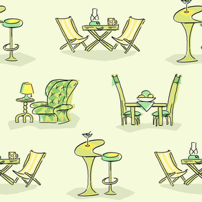 Tables&Chairs - green