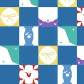 Table Cloth - Blue