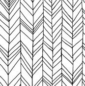 Featherland White/Black