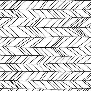 Featherland White/Black Rotated