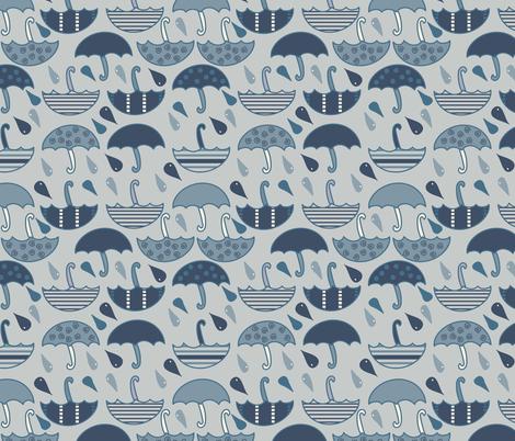Umbrellas fabric by wilkesgal12 on Spoonflower - custom fabric