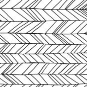 Featherland (Large) white/black Rotated