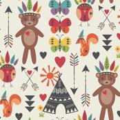 Little Indians-Main Pattern
