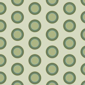 Blue Green Circles