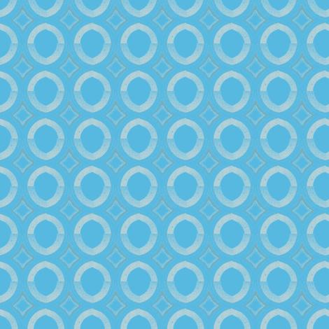 Umbrella-blue blue-2 fabric by miamaria on Spoonflower - custom fabric
