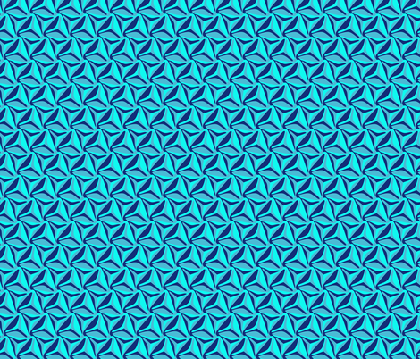 Blue Wave fabric by craige on Spoonflower - custom fabric