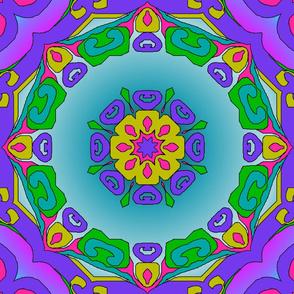 flower_curlicue_kaleidoscope_pink_lavender